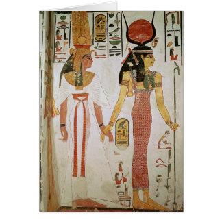 Isis and Nefertari Greeting Card