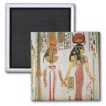 Isis and Nefertari Refrigerator Magnet