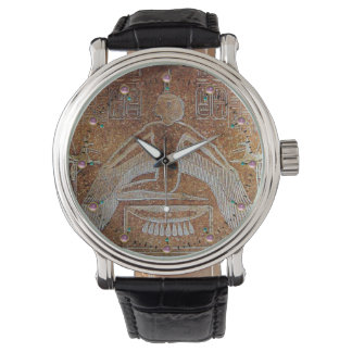 ISIS, Antique Brown Wristwatch