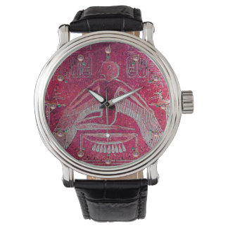 ISIS, Antique Red Wristwatches