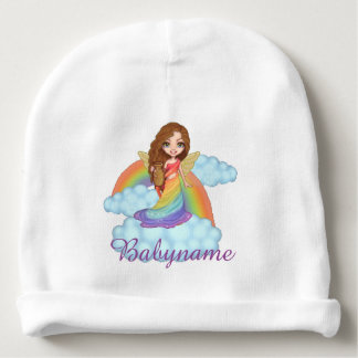 Isis Goddess of Rainbows Personalized Baby Beanie