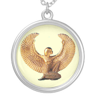 Isis Silver Plated Necklace