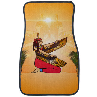 Isis the goddess of Egyptian mythology Car Mat