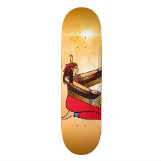 Isis the goddess of Egyptian mythology Custom Skateboard