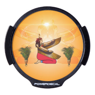 Isis the goddess of Egyptian mythology LED Car Decal