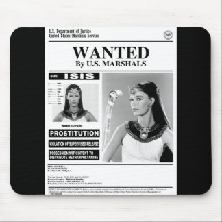 ISIS WANTED MOUSE PAD