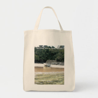 Isla Canas, Islas las Perlas, Panama Grocery Tote Bag