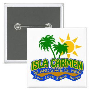 Isla Carmen State of Mind button