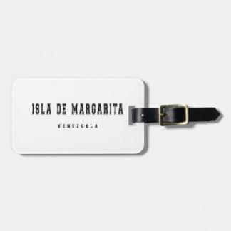 Isla de Margarita Venezuela Luggage Tag