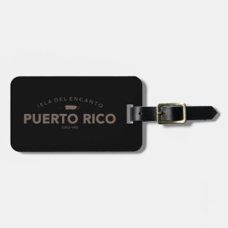 Isla del Encanto, Puerto Rico Bag Tag