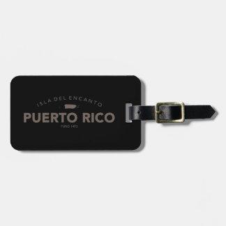 Isla del Encanto, Puerto Rico Tag For Bags