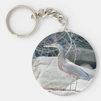 Isla Espiritu Santo, Islas las Perlas, Panama Basic Round Button Key Ring