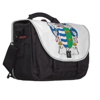 Isla Family Crest Laptop Messenger Bag