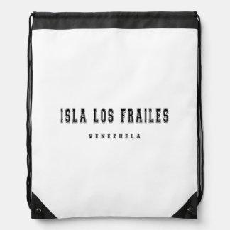 Isla Los Frailes Venezuela Drawstring Backpack