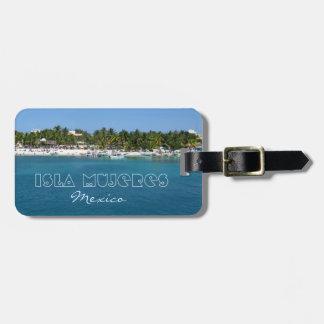 Isla Mujeres, Mexico Bag Tag