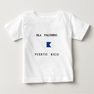 Isla Palomino Puerto Rico Alpha Dive Flag Infant T-Shirt