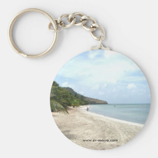 Isla Providencia, Colombia Basic Round Button Key Ring