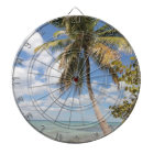 Isla Saona - Palm Tree at the Beach Dartboard