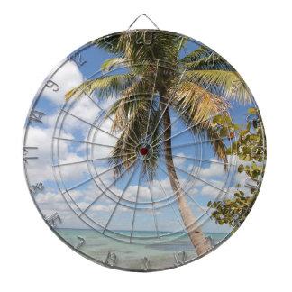 Isla Saona - Palm Tree at the Beach Dartboard