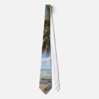 Isla Saona - Palm Tree at the Beach Tie