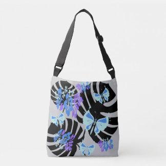Isla Tropicana (prints piglet grey-blue) Crossbody Bag