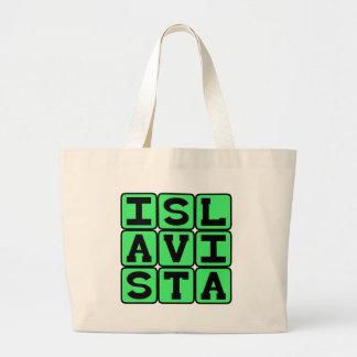 Isla Vista, Community in Goleta Canvas Bags