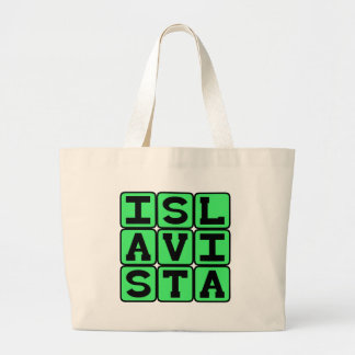 Isla Vista Community in Goleta Canvas Bags