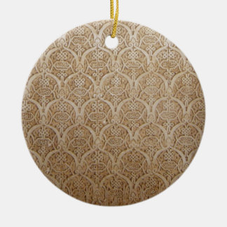 Islaamic Patterns from the Alhambra Granada Spain Christmas Ornament