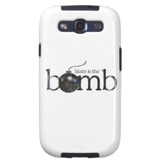 Islam is the bomb Faded.png Samsung Galaxy SIII Cover