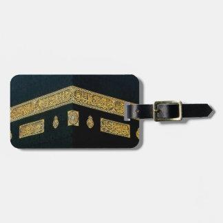 Islam Islamic Hajj Eid al Fitr Adha Mubarak Arabic Travel Bag Tag