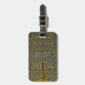 Islam Islamic Muslim Arabic Calligraphy Hajj Kaaba Bag Tags