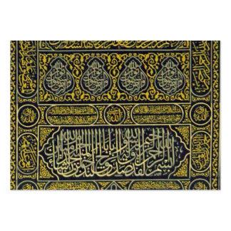Islam Islamic Muslim Arabic Calligraphy Hajj Kaaba Pack Of Chubby Business Cards