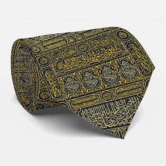 Islam Islamic Muslim Arabic Calligraphy Hajj Kaaba Tie