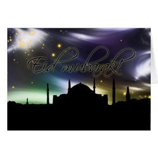 Islam mosque muslim eid greeting card