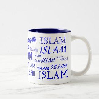 Islam Multi-font Mug (Blue)