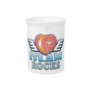 Islam Rocks Pitcher