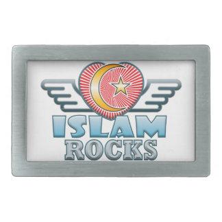 Islam Rocks Rectangular Belt Buckle