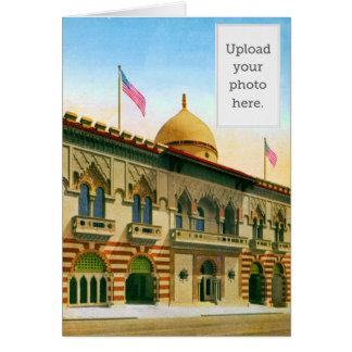 Islam Temple Greeting Card