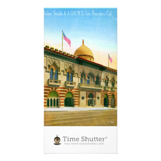 Islam Temple Picture Card