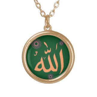 Islamic Allah necklace