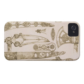 Islamic and Moorish designs for knife blades, from iPhone 4 Case