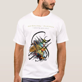 Islamic Art - As-Salamu `Alaykum T-Shirt