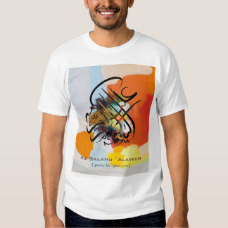 Islamic Art - As-Salamu `Alaykum T-shirts