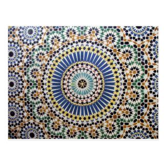 islamic art postcard