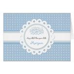 Islamic blue Aqeeqah baby birth congratulation