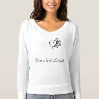 Islamic bride to be shirt, zawjah T-Shirt