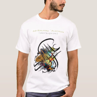 Islamic calligraphy - As-Salamu `Alaykum T-Shirt