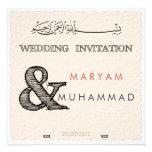Islamic calligraphy Islam paper wedding engagement