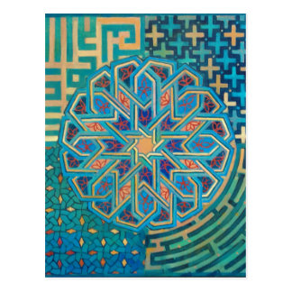 Islamic Design Postcard