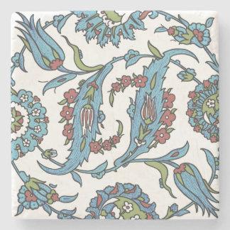 Islamic Floral Ceramic Tile 1 Stone Coaster